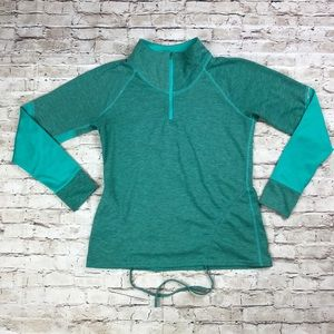 Lucy Activewear 1/4 zip long sleeve pullover